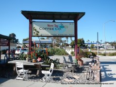 coffee stop-Morro Bay
