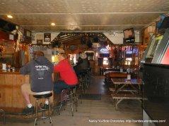 interior of saloon