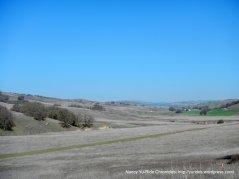 open soft rolling hillsides