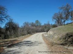 narrow gravel road