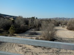 sandy & dry Salinas River