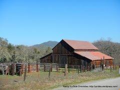 big wooden barn