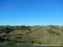 surrounding hills