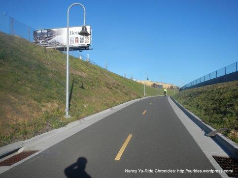 approach to bridge crossing