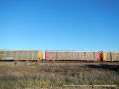 trains along Goodyear Rd