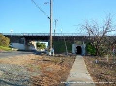 short tunnel on Morello-Martinez