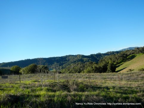 surrounding hills around Briones