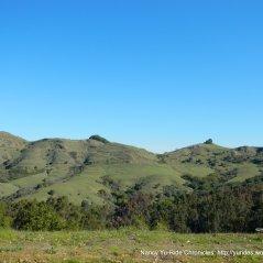 hills surrounding Sibley Preserve