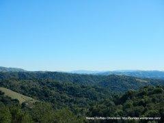 views of hills around Chabot