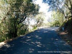 becomes single narrow lane