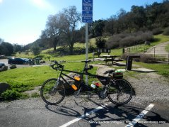 stop at Pleasanton Ridge Park