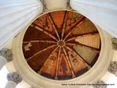 beautiful mural under dome