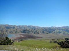 hills surrounding reservoir