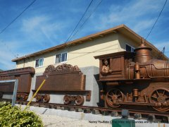 Niles Canyon RR frieze