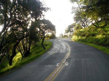 approaching top of N San Pedro
