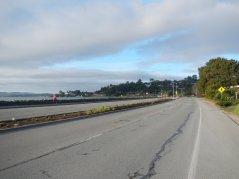 along the shoreline San Rafael Bay