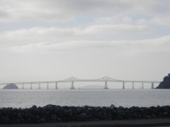 view of San Rafael Richmond Bridge