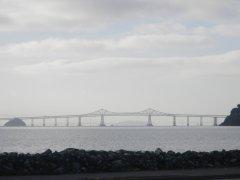 view of San Rafael Richmond Bridge