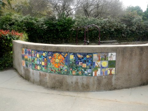 at Bret Harte Park on Irwin St