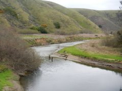 waterway from Tomales Bay