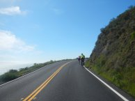 rolling climbs on Hwy 1