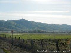 Vaca Valley hills