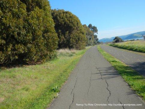 Bay Trail into park