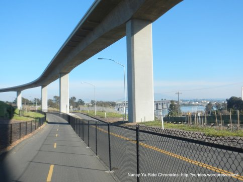 approaching bridge