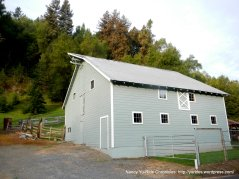 repainted old barn