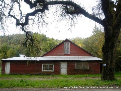 old farmhouse on Mt Veeder Rd