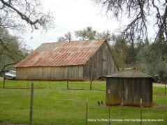 Pope Valley old barn, ranch