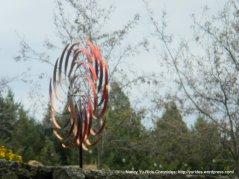 outdoor copper sculpture