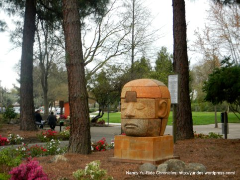 unique head sculpture