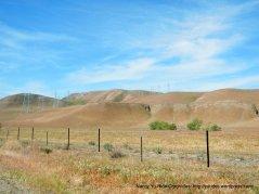 contoured hills