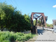 Iron Horse bridge crossing