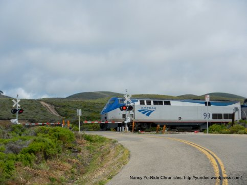 Amtrak crossing