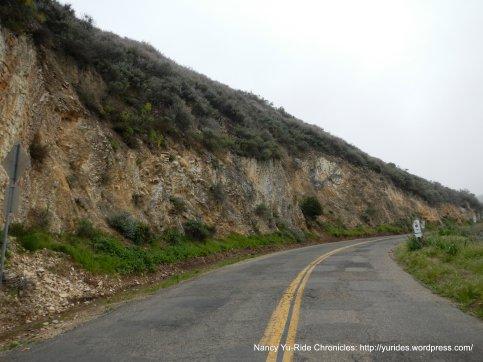 approaching top of climb