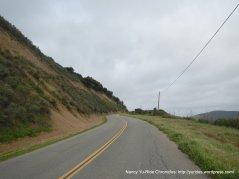 climb up Santa Rosa Rd