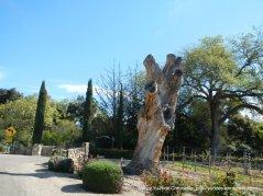 outdoor art-tree stump