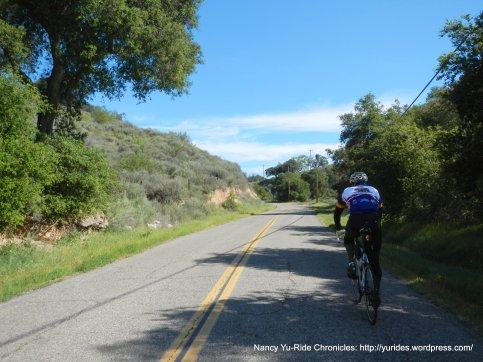 short climb up Foxen Canyon