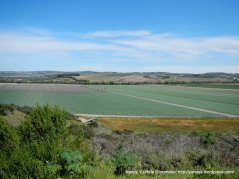 views of the agricultural valley