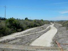 xing the dry Santa Ynez River