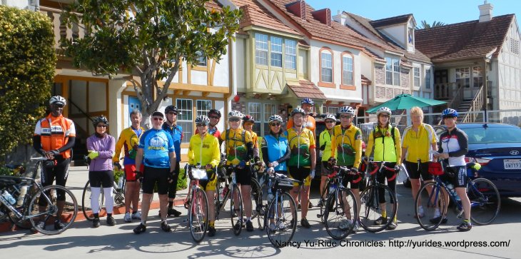 Grizzly Peak Cyclists in Solvang
