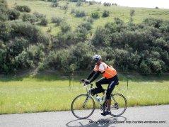 enjoying the ride through the valley