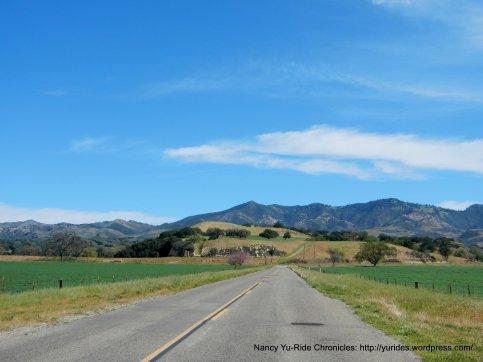 view of the San Rafael Mountains