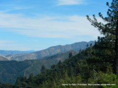 Los Padres Mountains
