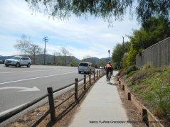 ped/bike path back