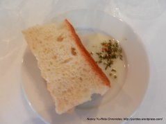 Focaccia with herbed olive oil