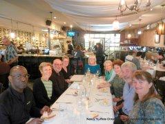 L-R: Michael, Deb, Phil, Sandy, Jean, Bev, Margie, Brian, Janet