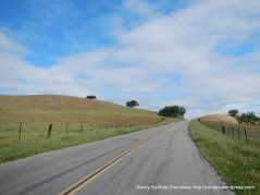 climb up Firestone Hill